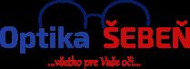 www.optikašebeň.sk Logo